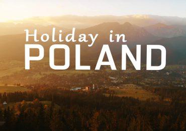 Weekend w Polsce i Bieszczady z lotu ptaka, imponujące filmy promujące.