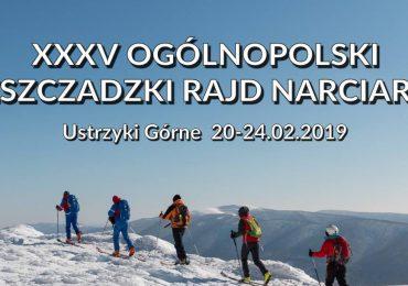Ustrzyki górne: XXXV Ogólnopolski Bieszczadzki Rajd Narciarski