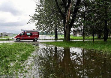 Powódź na Podkarpaciu. Blisko 800 interwencji strażaków w ciągu ostatniej doby. Fala kulminacyjna na Wiśle dziś wieczorem