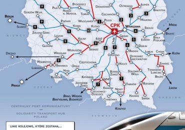 Jak Centralny Port Komunikacyjny będzie połączony z Podkarpaciem?