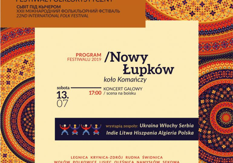 """Sanok: XXII  Międzynarodowego Festiwalu Folklorystycznego pn. """"Świat Pod Kyczerą"""""""