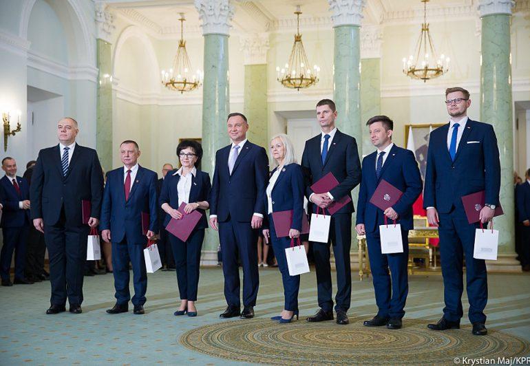 Znamy nazwiska nowych ministrów w rządzie Morawieckiego