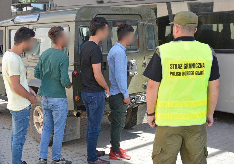 Lubaczów: Czterech Turków zatrzymanych przez pograniczników