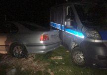 Kolbuszowa: Policjanci zatrzymali pijanego kierowcę bmw, który uszkodził radiowóz