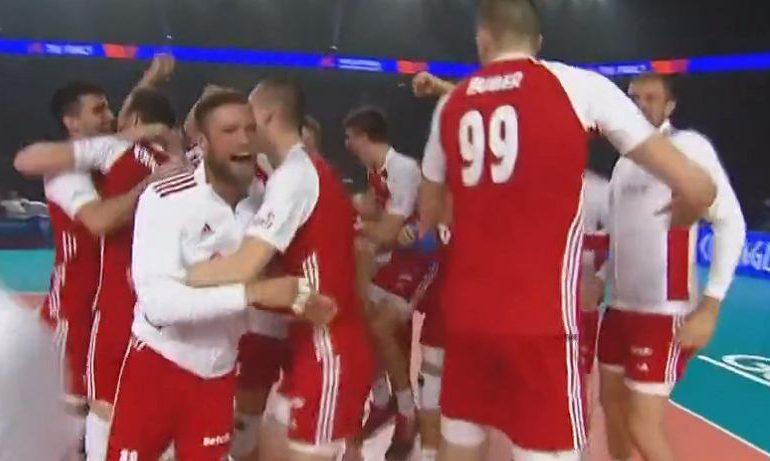 Polacy zagrali genialnie i zdobyli medal Ligi Narodów! Brazylia bez szans!