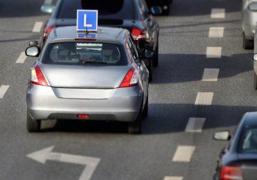 Krosno: Wypadek na egzaminie na prawo jazdy