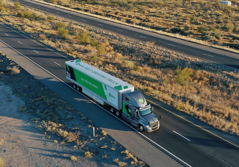 Autonomiczne ciężarówki już przewożą towary po publicznych drogach