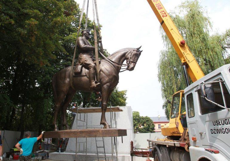 Rzeszów: Pomnik Józefa Piłsudskiego z brązu już w Rzeszowie