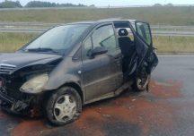 Łańcut: Wypadek na autostradzie