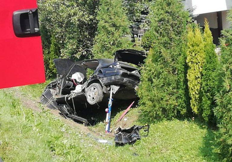Ropczyce: Tragiczny wypadek w Wielopolu Skrzyńskim