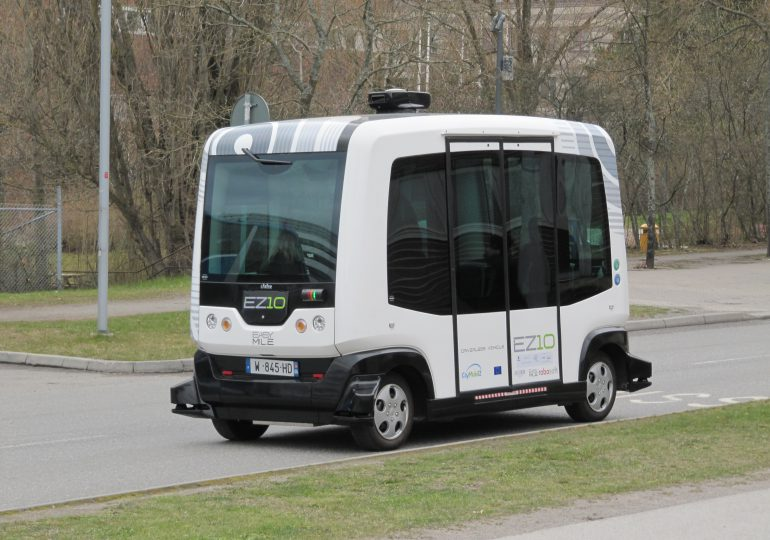 Autobus bez kierowcy już jeździ w Gdańsku. To pierwszy taki test w Polsce