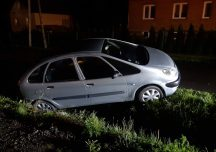 Brzozów: Pijany obywatel Ukrainy wjechał do rowu