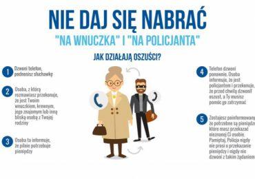 """Ropczyce: Seniorzy z Góry Ropczyckiej stracili 100 tys. złotych. Zostali oszukani metodą """"na wnuczka"""""""