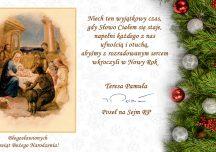Życzenia z okazji Świąt Bożego Narodzenia od Poseł na Sejm Teresy Pamuły