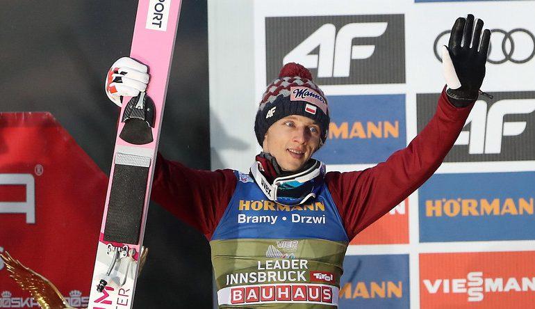Fenomenalny Dawid Kubacki! Jako 3. Polak wygrał Turniej Czterech Skoczni!