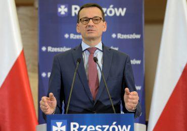 Rzeszów: Opłatek Prawa i Sprawiedliwości w Rzeszowie z premierem Mateuszem Morawieckim