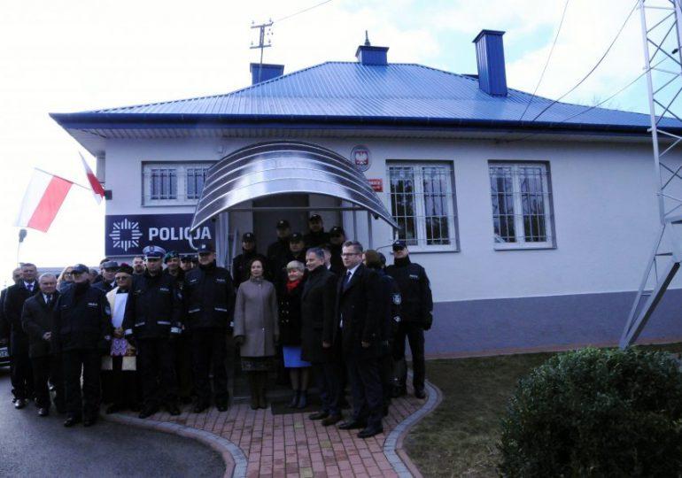 Mielec: Otwarcie posterunku policji w Wadowicach Górnych
