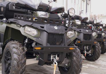 Ustrzyki Dolne: Nowe pojazdy służbowe w Bieszczadzkim Oddziale SG