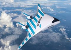 Airbus pokazał model samolotu przyszłości. Nie ma w nim okien