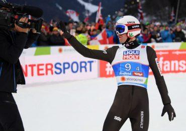 Kamil Stoch z jubileuszowym 70. podium w Pucharze Świata. W innym rankingu doskoczył do setki