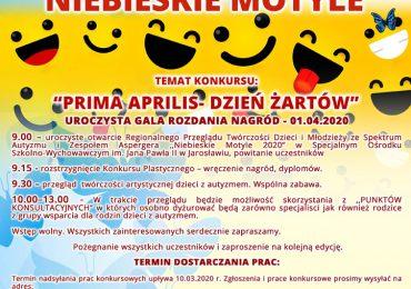 Jarosław: Niebieskie motyle 2020