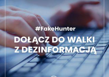 Projekt #FakeHunter: wezwanie do walki z dezinformacją o SARS-CoV-2