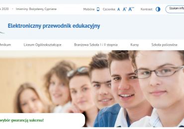 Jarosław: Elektroniczny Przewodnik Edukacyjny Powiatu Jarosławskiego wystartował!