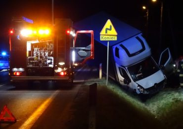 Dębica: 34-latek wtargnął na jezdnię tuż pod nadjeżdżającą ciężarówkę. Nie żyje