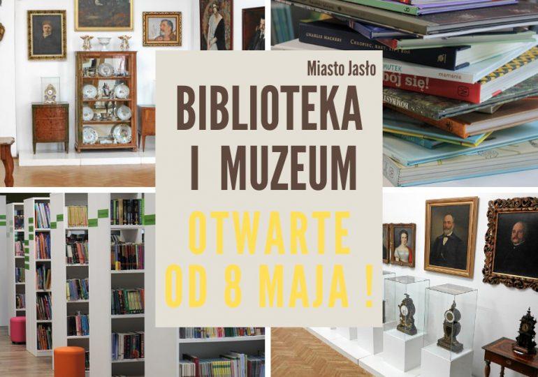 Jasło: Biblioteka i muzeum otwarte od piątku