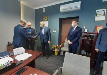 Mielec: Pożegnanie Dyrektora Szpitala Specjalistycznego Józefa Więcława