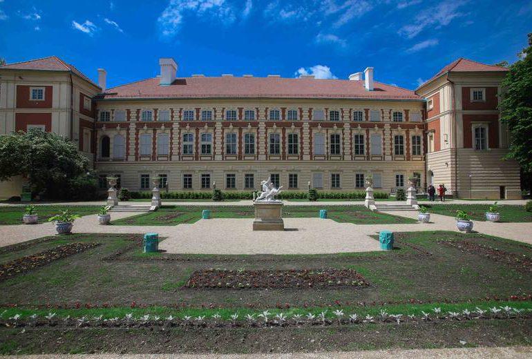 Łańcut: Zakończenie prac rewitalizacyjnych w Ogrodzie Włoskim w  Muzeum-Zamek [fotorelacja]