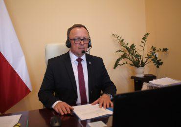 Jarosław: Rada Powiatu po raz drugi obradowała zdalnie. Owocnie.