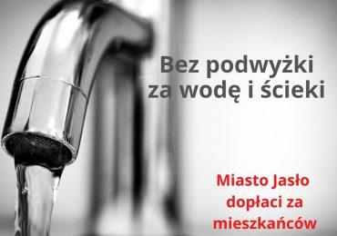 Jasło: Bez podwyżki za wodę i ścieki - Miasto Jasło dopłaci za mieszkańców [audio]