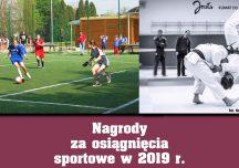 Jasło: Nagrody za osiągnięcia sportowe w 2019 roku