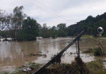 Podkarpacie: Powodziowe utrudnienia na drogach