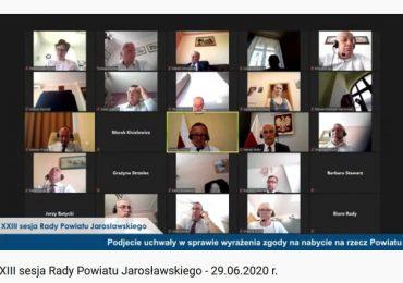 Jarosław: Wotum zaufania i absolutorium dla starosty jarosławskiego i Zarządu Powiatu