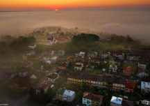 Jasło: Otulone mgłą – najlepsze jasielskie zdjęcie maja