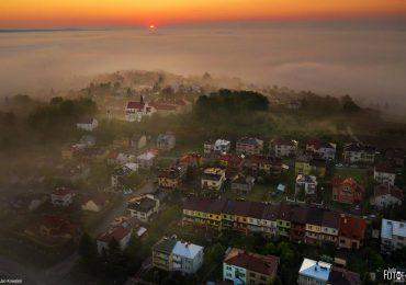 Jasło: Otulone mgłą - najlepsze jasielskie zdjęcie maja