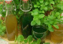 Kulinaria: Aromatyczny i pyszny syrop z mięty na zimę.