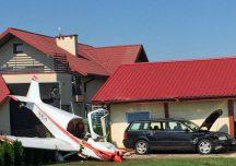 Krosno: Awaryjne lądowanie awionetki w Krośnie