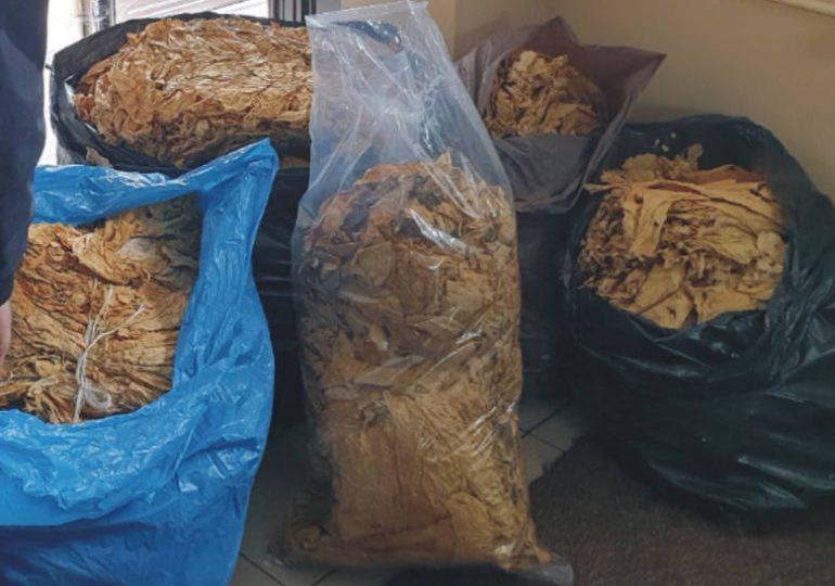 Nisko: prawie 100 kg suszu tytoniowego zabezpieczone przez funkcjonariuszy