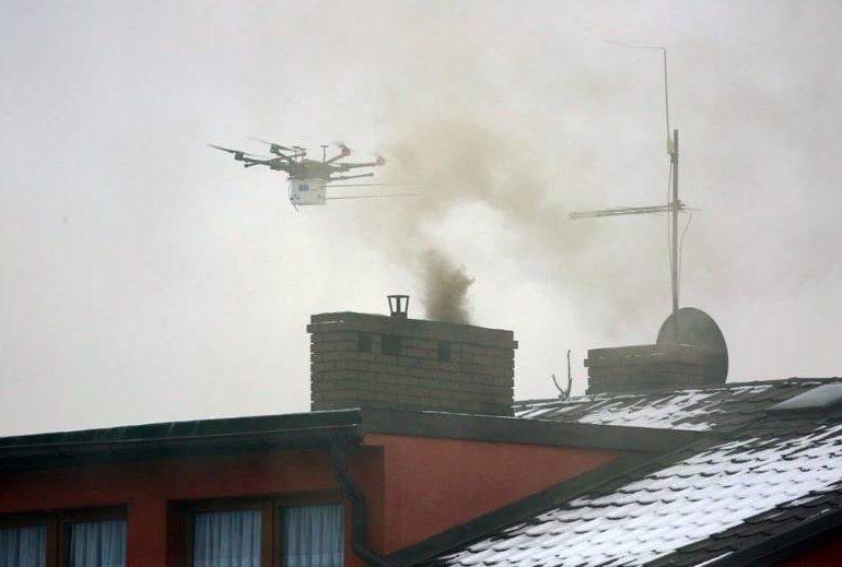 Podkarpacie: System pomiaru jakości powietrza z drona