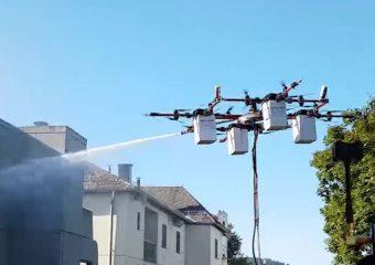 Technologia: Przyszłość ratownictwa? Do użytku wychodzą pierwsze drony gaśnicze.