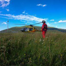 Ustrzyki Dolne: Tragiczny wypadek w Bieszczadach. Mężczyzna spadł z dużej wysokości.