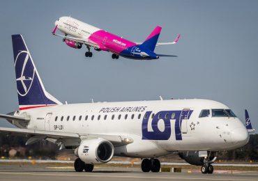 Polska: Zakaz 43 połączeń lotniczych będzie przedłużony do 1 września