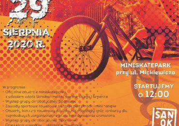 Sanok: Oficjalne otwarcie Miniskateparku na zakończenie wakacji