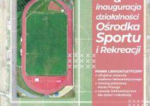 Ustrzyki Dolne: Otwarcie Stadionu Lekkoatletycznego w Ustrzykach Dolnych