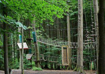 Dębica: Otwarto park linowy w Pustkowie-Osiedlu.