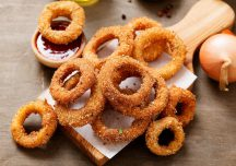 Kulinaria: Cebulowe złote krążki