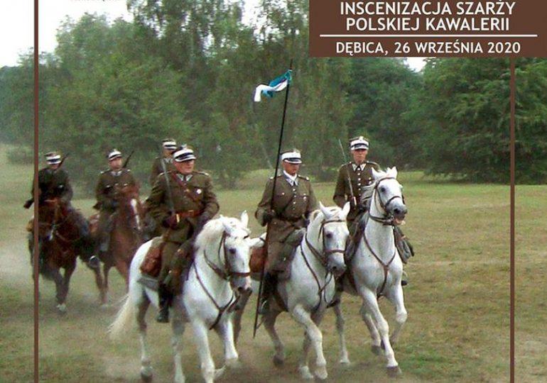 Dębica: Inscenizacja Szarży Polskiej Kawalerii